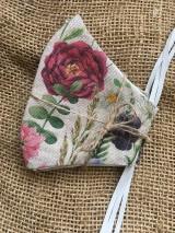 Rúška - Summer flowers - 11857140_