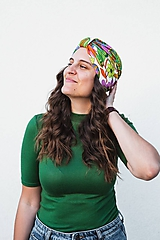 Čiapky - Dámsky turban Lily - 11856474_