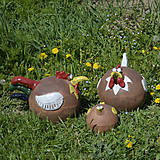 Dekorácie - Sliepka - záhradá dekorácia - 11856066_