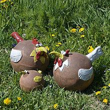 Dekorácie - Sliepka - záhradá dekorácia - 11856065_