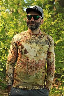 Tričká - WALKER - termo tričko pánske (S) - 11856674_