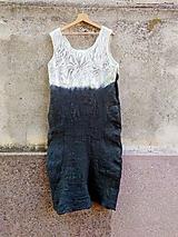 Šaty - Dámske šaty -dlhé, letné a zelené - 11860611_