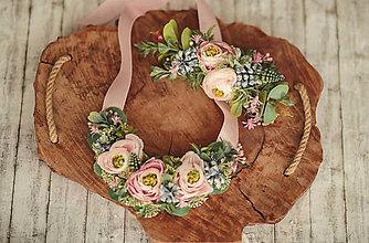Náhrdelníky - Kvetinový náhrdelník - 11859059_