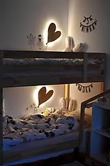 Detské doplnky - Detská lampa - Srdiečkový balón - 11858188_