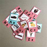 Hračky - abeceda a OBRÁZKY - 11862171_