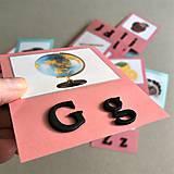 Hračky - abeceda a OBRÁZKY - 11862173_