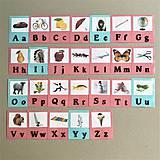 Hračky - abeceda a OBRÁZKY - 11862174_
