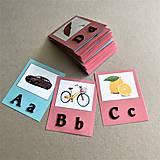 Hračky - abeceda a OBRÁZKY - 11862177_
