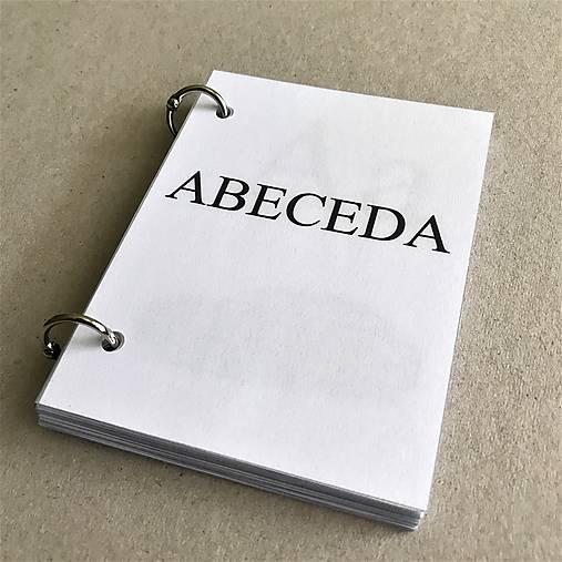 kniha ABECEDA