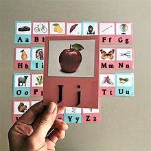 Hračky - abeceda a OBRÁZKY - 11862175_