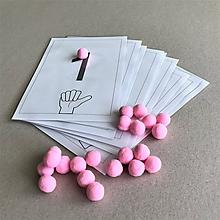 Hračky - Čísla a guličky - 11862276_