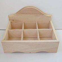 Polotovary - Krabica s priečinkami otvorená - 11860567_