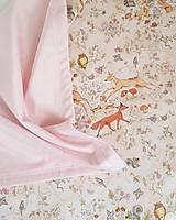 Textil - detská deka lesné zvieratká - 11859596_