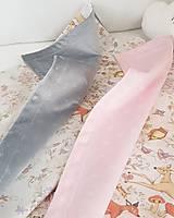 Textil - detská deka lesné zvieratká - 11859597_