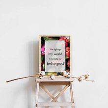 Obrázky - Plagát s citátom VII. - 11859929_