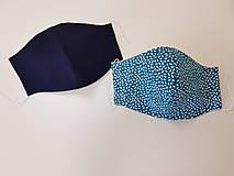 Rúška - Panske bavlnene dizajnove rusko - 11860207_