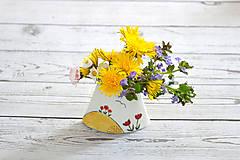 Dekorácie - Mini Vázička - 11858614_