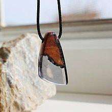 Náhrdelníky - čierny amulet - 11859573_