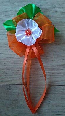 Pierka - Pierko pre starejšieho oranžové - 11861894_