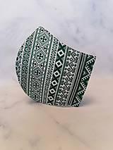 Rúška - rúško 2-vrstvové na vkladanie pánske - 11860086_