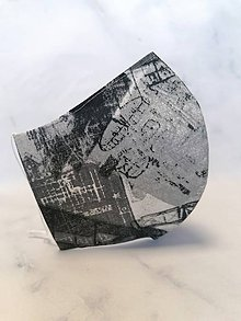 Rúška - rúško 2-vrstvové na vkladanie pánske, alebo detské - 11860072_