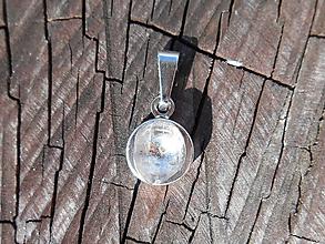 Náhrdelníky - Diamond cristallum: from slovakia: s retiazkou - 11867505_