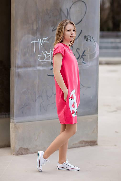 """Úpletové šaty/tunika """"mama a dcéra"""" ♥ Maribel II s opaskom"""
