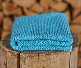 Textil - Tyrkysová detská deka - 11863557_
