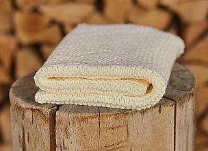 Textil - Detská deka smotanová - 11863572_