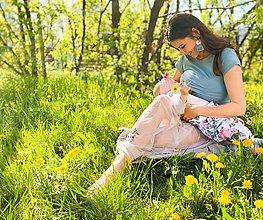 Tričká - Tričko na dojčenie mentol - 11866282_