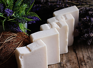 Drogéria - Kokosové mýdlo na praní s citrátem sodným 100 g bez parfemac - 11863314_