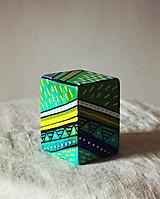 Hudobné nástroje - Maľovaný shaker - mini cajon - 11866563_