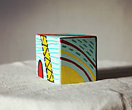 Hudobné nástroje - Maľovaný shaker - mini cajon - 11866660_