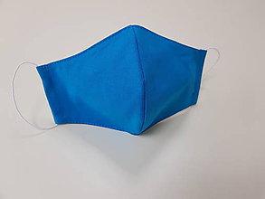 Rúška - Dámske bavlnené rúško beries and sunny- dizajnove (Modrá) - 11865780_