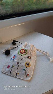 Úžitkový textil - Mini taštička - 11867166_