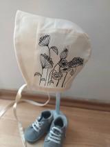 Detské čiapky - Maľovaná čiapočka - 11862966_