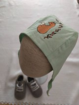 Detské čiapky - Čiapočka s líškou - 11862982_