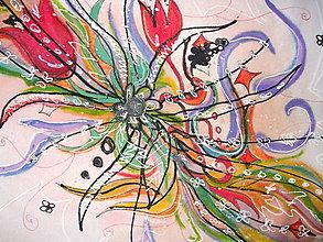 Tričká - lel, maľované trička 2 - 11868009_