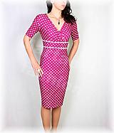 Šaty - Šaty nemačkavý úplet vz.522 - 11869080_