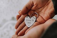 Drobnosti - Kľúčenka Ľúbime ťa mami - 11871473_