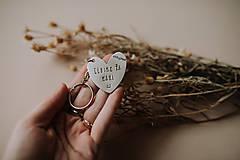 Drobnosti - Kľúčenka Ľúbime ťa mami - 11871474_