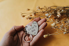 Drobnosti - Kľúčenka Ľúbime ťa mami - 11871475_