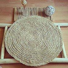 Úžitkový textil - Vidiecky koberček FARMHOUSE okrúhly - 11869216_