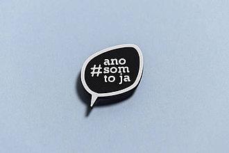 Rúška - Magnetická brošňa na rúško - 11871791_