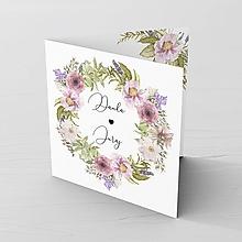 Papiernictvo - Svadobné oznámenie Fleur 2 - 11875069_