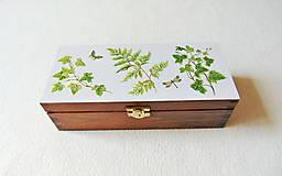 Krabičky - Drevená krabička Z lesa - 11875097_