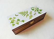 Krabičky - Drevená krabička Z lesa - 11875103_