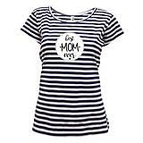 Tričká - BEST MOM EVER - dámske tričko - 11875215_