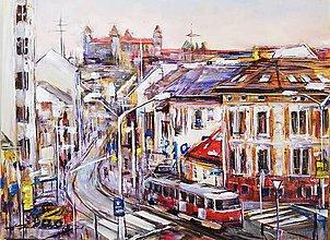 Obrazy - Bratislava - rušný deň - 11875221_