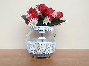 Dekorácie - Váza ♥ - 11876220_